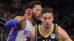 خلاصه بسکتبال دیترویت پیستونز - ایندیانا پیسرز