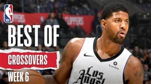 برترین کراس اوور های هفته ششم بسکتبال NBA