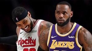 خلاصه بسکتبال پورتلند - لس آنجلس لیکرز