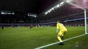 گل اول منچستریونایتد برابر منچسترسیتی (رشفورد- پنالتی)