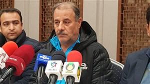 نشست خبری شیخ لاری مربی تراکتور