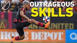 برترین حرکت های تکنیکی فوق العاده در MLS