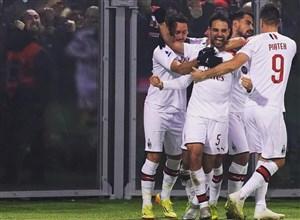 پیروزی دشوار میلان در خانه بولونیا