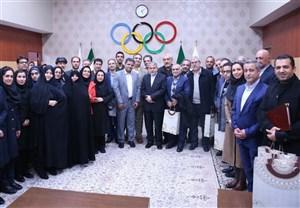نشست روسای انجمنهای ورزشی با صالحی امیری