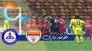 خلاصه بازی فولاد خوزستان 1 - پارس جنوبی جم 0