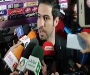 خسرو حیدری:هواداران را که دیدم طاقت نیاوردم