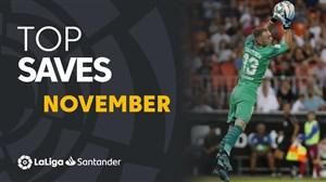 سیوهای برتر لالیگا در ماه نوامبر