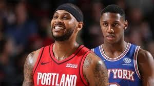 خلاصه بسکتبال نیویورک نیکس - پورتلند بلیزرز