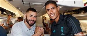 با بازیکنان رئال از مادرید تا بلژیک