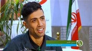 گفتگو با بازیکنان تیم ملی فوتسال درباره مسابقات مشهد
