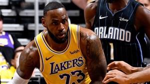 ویدئو خلاصه بسکتبال لس آنجلس لیکرز - اورلاندو مجیک