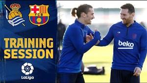 تمرینات امروز بارسلونا (21-09-98)