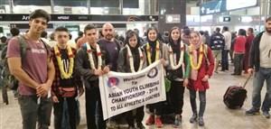 صعود سنگنوردان نوجوان ایران به قهرمانی آسیا