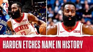 هاردن ستارهای یکه تاز در NBA