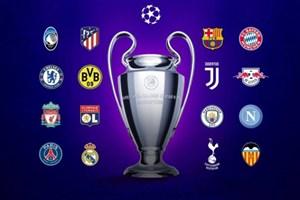 16 تیم راه یافته به مرحله حذفی لیگ قهرمانان اروپا 2020