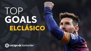 برترین گلهای بارسلونا در ال کلاسیکو از 2009 تا 2019