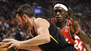 خلاصه بسکتبال تورنتو رپترز - کلیولند کاوالیرز