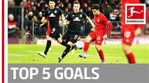 5 گل برتر هفته پانزدهم بوندسلیگای آلمان