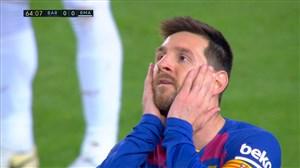 بررسی عملکرد لیونل مسی در مقابل رئال مادرید (27-09-98)