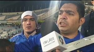 اعتراض شدید هواداران استقلال بعد از شکست خانگی