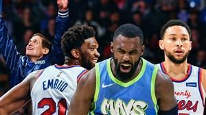 خلاصه بسکتبال دالاس ماوریکس - فلادلفیا