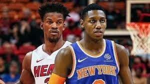 خلاصه بسکتبال میامی هیت - نیویورک نیکس