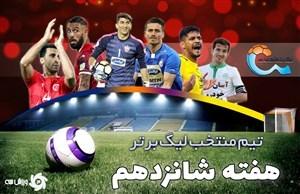 تیم منتخب هفته شانزدهم لیگ برتر ایران