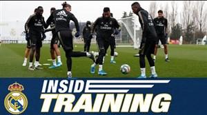 تمرینات امروز رئال مادرید(30-09-98)