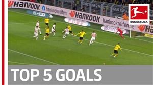 5 گل برتر هفته شانزدهم در بوندسلیگا