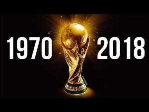 مرور فینالهای جام جهانی از 1970 تا 2018