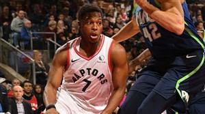 خلاصه بسکتبال تورنتو رپترز - دالاس ماوریکس