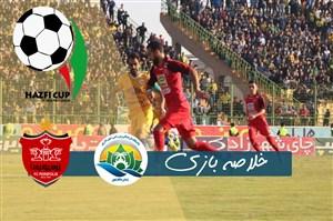 خلاصه بازی شهرداری ماهشهر 0 - پرسپولیس 2 (جام حذفی)