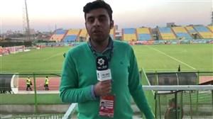 گزارش از آبادان:صعود پرسپولیس در بازی جنجالی
