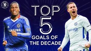 5 گل برتر چلسی به انتخاب باشگاه در دهه گذشته
