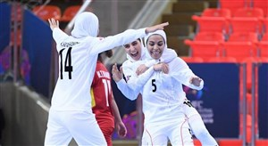 خاطره انگیز؛ گل رباح ماجری فهیمه زارعی برای تیم ملی فوتسال