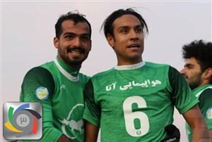 احمدرضازندهروح کاندید بهترین بازیکن ماه آذر لیگ برتر