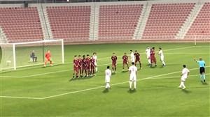 گل دوم امید ایران برابر قطر با کاشته دیدنی قائدی