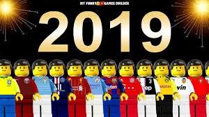 شبیه سازی اتفاقات مهم فوتبالی در سال 2019 با لگو