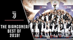 برترین لحظات باشگاه یوونتوس در سال 2019