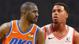 خلاصه بسکتبال اوکلاهاما سیتی - تورنتو رپترز