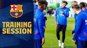 تمرینات امروز بارسلونا (09-10-98)