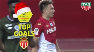 3 گل برتر موناکو در نیم فصل اول لوشامپیونه 20-2019
