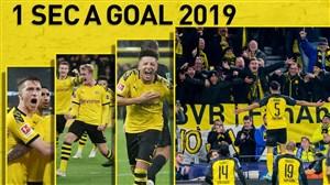تمام 97 گل دورتموند در سال 2019