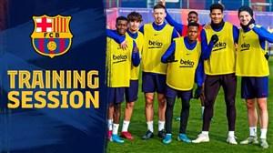 آخرین تمرین بارسلونا در سال 2019