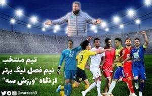 تیم منتخب نیم فصل لیگ برتر ایران 99-1398