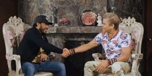 مصاحبه بامزه دو ستاره قدیمی فوتبال کلمبیا