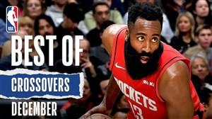 برترین کراس اوور های ماه دسامبر بسکتبال NBA