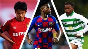 استعدادهای آیندهدار فوتبال جهان
