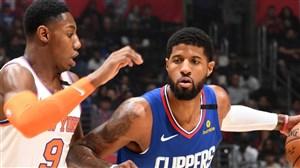 خلاصه بسکتبال لس آنجلس کلیپرز - نیویورک نیکس