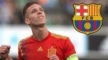 مهارت های دنی اولمو بازیکن مدنظر بارسلونا